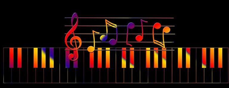 colorful piano tutorial