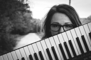 a piano student is quitting piano lessons