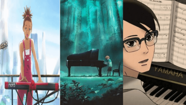 anime with piano